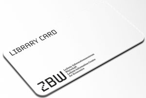 Library card - ZBW