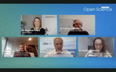 "[Translate to Englisch:] Panel discussion on ""Open Science in a Time of Global Crises"""