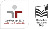 Logo audit berufundfamile and Logo Library of the Year 2014